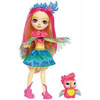 Enchantimals Кукла Попугайчик Пики и Шини Peeki Parrot Doll & Sheeny, фото 1