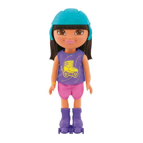 Fisher-Price Даша путешественница на роликах Dora The Explorer Everyday Adventure Roller Skater Dora