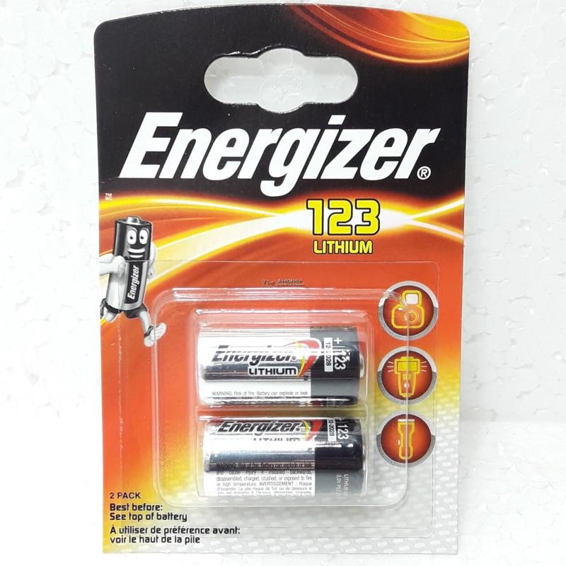 Батарейка Energizer 123 3V Lithium batteries Китай