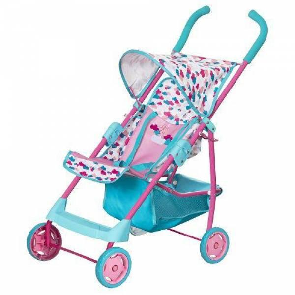 Zapf Creation Прогулочная коляска трость для куклы пупса Идем на прогулку Baby Born 1423492