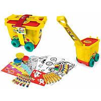Play-doh Набор для творчества Арт-Тележка CPDO148, фото 1