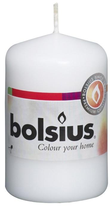 Свеча цилиндр белая bolsius 8 см (50/80-090Б)