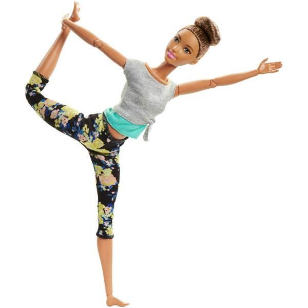Barbie Барби йога брюнетка Made To Move Doll Brunette