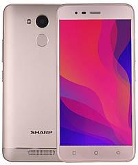 Смартфон Sharp R1 3/32gb Gold 4000 мАч MediaTek MT6737
