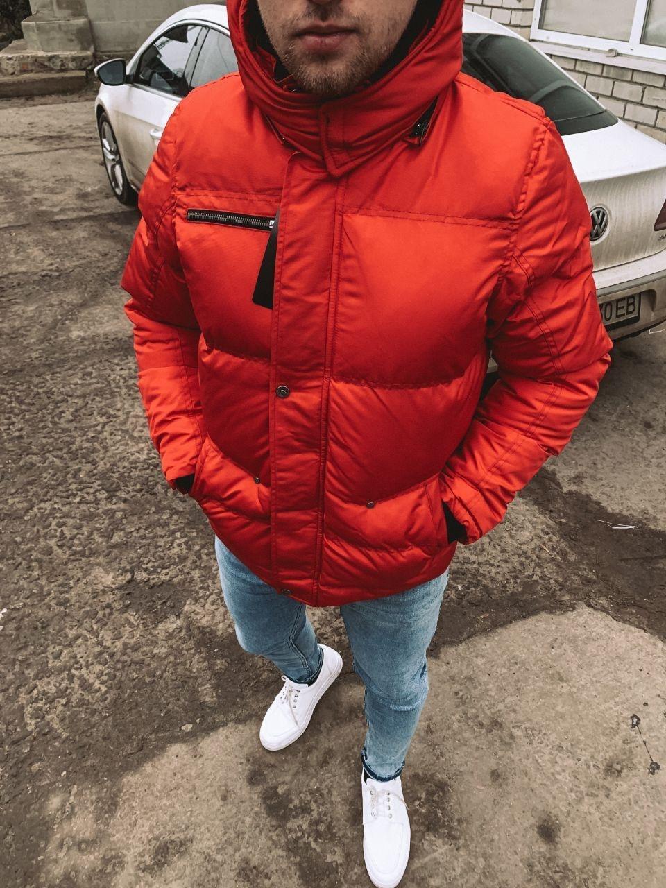 😜 Парка - Мужская куртка красная