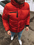 😜 Парка - Мужская куртка красная, фото 2