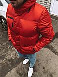 😜 Парка - Мужская куртка красная, фото 3