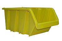 Ящик пластиковый №718 цветной с размерами ДхШхВ 375х225хН175 мм