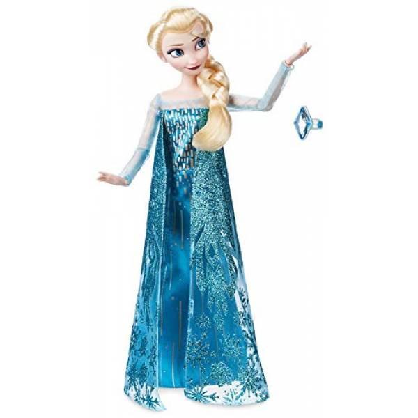 Disney Принцессы Диснея Эльза с кольцом для девочки Frozen Elsa Classic Doll with Ring 2018 Version