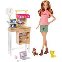 Barbie Барби ветеринарный врач Zoo Doctor Playset