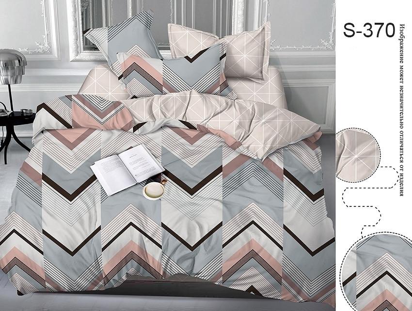 Полуторный комплект постельного белья с компаньоном S370