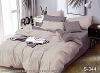 Двуспальный комплект постельного белья с компаньоном S344, фото 1