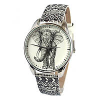 Стильные наручные часы Слон орнамент ZIZ (Украина)