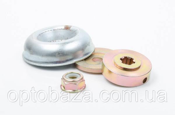 Набор тарелок редуктора с гайкой для мотокос серии 40 - 51 см, куб