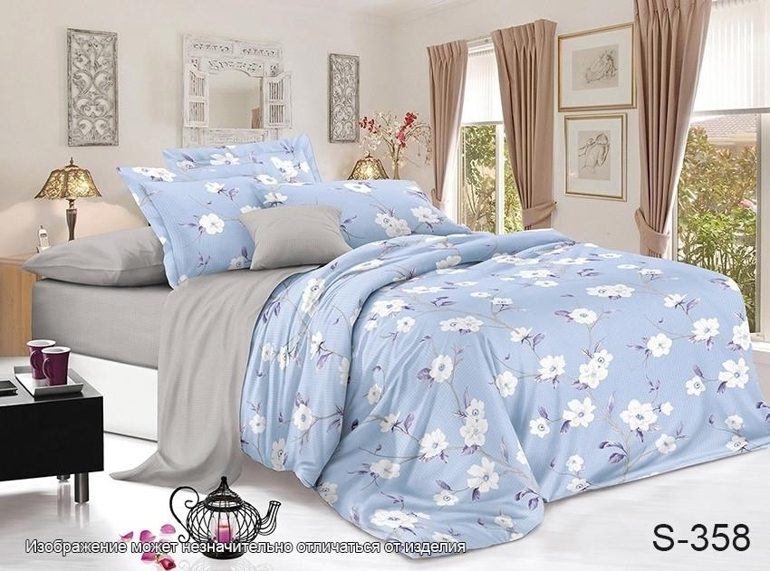 Двуспальный комплект постельного белья с компаньоном S358