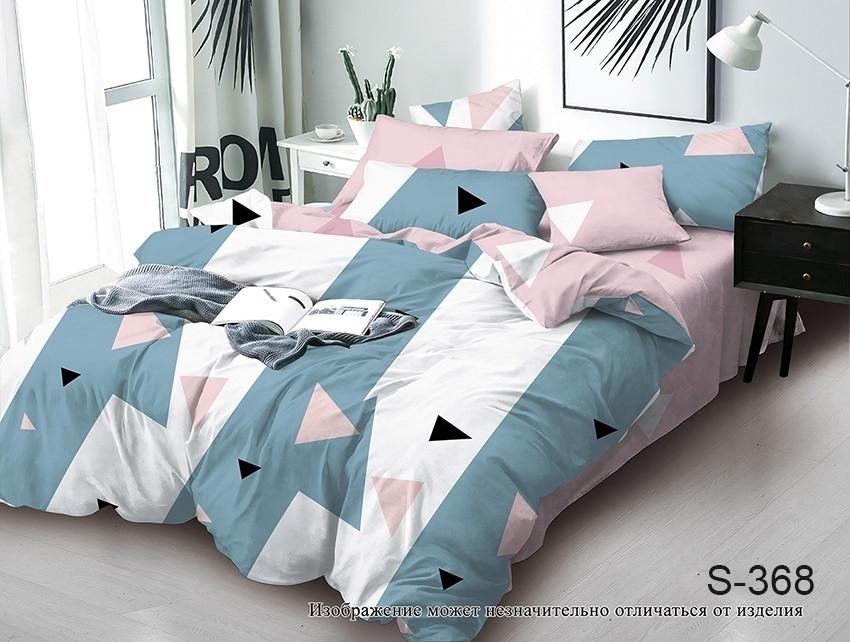 Двуспальный комплект постельного белья с компаньоном S368