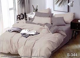 Евро комплект постельного белья с компаньоном S344