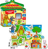 Игра настольная Vladi Toys Магнитный театр Теремок TOY-55987, КОД: 1278372