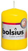 Свічка циліндр жовта bolsius 8 см (50/80-010Б)
