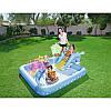 Детский надувной бассейн с горкой «Аквариум» Bestway 53052 239х206х86 см, фото 2