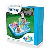 Детский надувной бассейн с горкой «Аквариум» Bestway 53052 239х206х86 см, фото 3