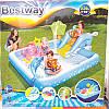 Детский надувной бассейн с горкой «Аквариум» Bestway 53052 239х206х86 см, фото 4