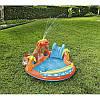 Игровой бассейн Вулкан с горкой, подушкой, кольцом и 4 шариками Bestway 53069 265 х 265 х 104 см, фото 6