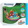 Игровой бассейн Вулкан с горкой, подушкой, кольцом и 4 шариками Bestway 53069 265 х 265 х 104 см, фото 7