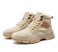 Теплые мужские ботинки. Модель 8344, фото 2
