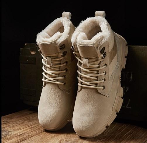 Теплые мужские ботинки. Модель 8344