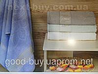 Комплект полотенец Golden rose  махра - лицо + баня Турция pr-q45