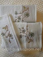 Комплект полотенец Merzyka махра - кухня + лицо + баня Турция 040 -1