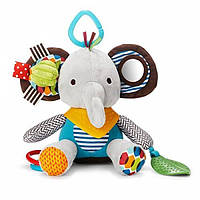 Skip Hop Развивающая подвесная игрушка Слон Elephant Bandana Buddies Multi Activity Toy, фото 1