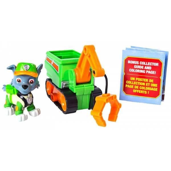 Paw Patrol Щенячий патруль Рокки мини машинка подъемный кран Ultimate Rescue Rocky's Mini Crane Cart