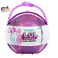 Вторая волна Жемчужный ЛОЛ Сюрприз большой шар L.O.L. Surprise Pearl Surprise- Style 2