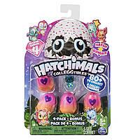 Hatchimals CollEGGtibles 4 Pack Season 4 сезон Хетчималс коллекционные яйца фигурки хатчималс