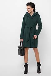 Утепленное женское шерстяное пальто, в расцветках, р.42,44,46
