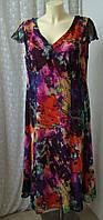 Платье женское летнее легкое длинное бренд Per Una M&S р.50
