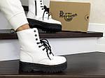 Женские зимние ботинки Dr. Martens Jadon (белые), фото 2