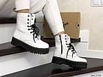 Женские зимние ботинки Dr. Martens Jadon (белые), фото 4