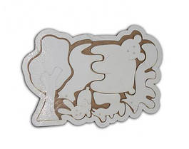 """Деревянная рамка-пазл """"Лесные животные"""" 7Toys (TC47861)"""