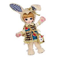 "Pullip Коллекционная кукла пуллип токидоки Белый Кролик P-085 Classical Alice White Rabbit 12"" Tokidoki Doll"