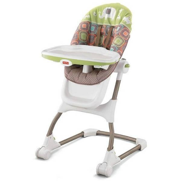 Fisher-Price Стульчик для кормления W2082 EZ Clean High Chair Coco Sorbet