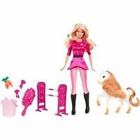 Barbie Барби из серии Я могу быть тренер для пони X4823 I Can Be A Pony Trainer