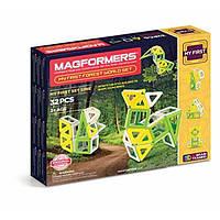 Magformers Магнитный конструктор 32 детали Мой первый лесной мир 02009 My First Forest World Set, фото 1