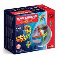 Magformers Магнитный конструктор 40 деталей Базовый набор дуга 701011 Curve Basic set, фото 1