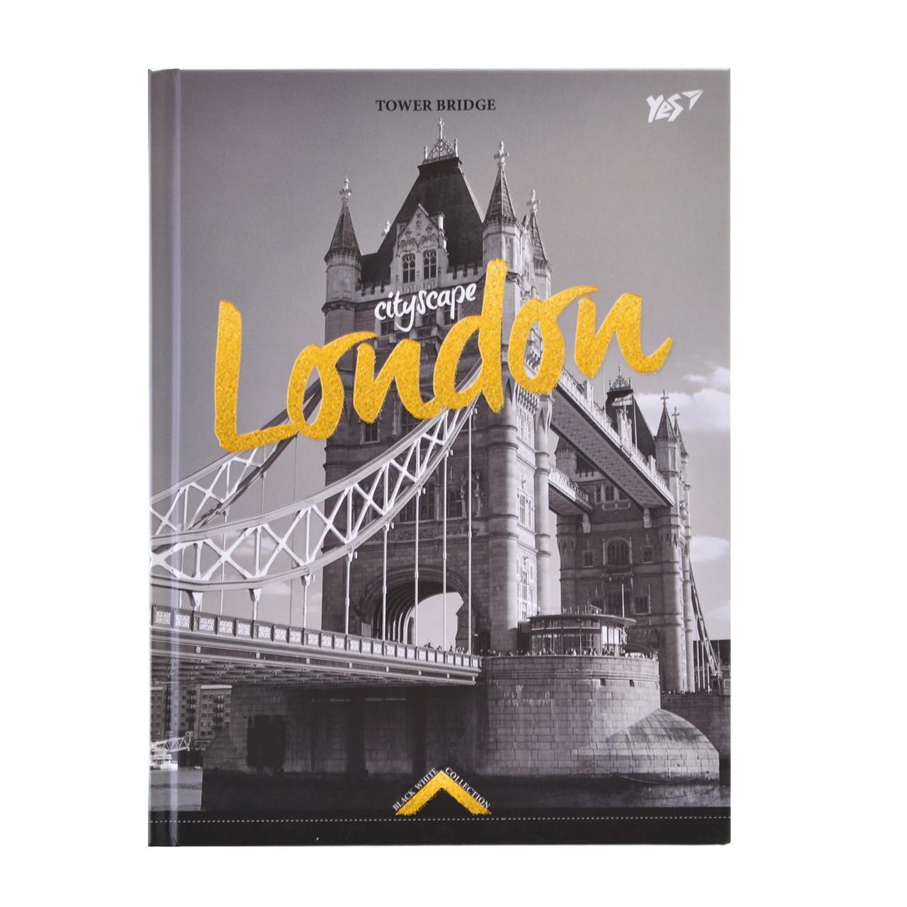 Блокнот 140*185/64 КЛ. 7БЦ Gorjous London  YES   код: 151466