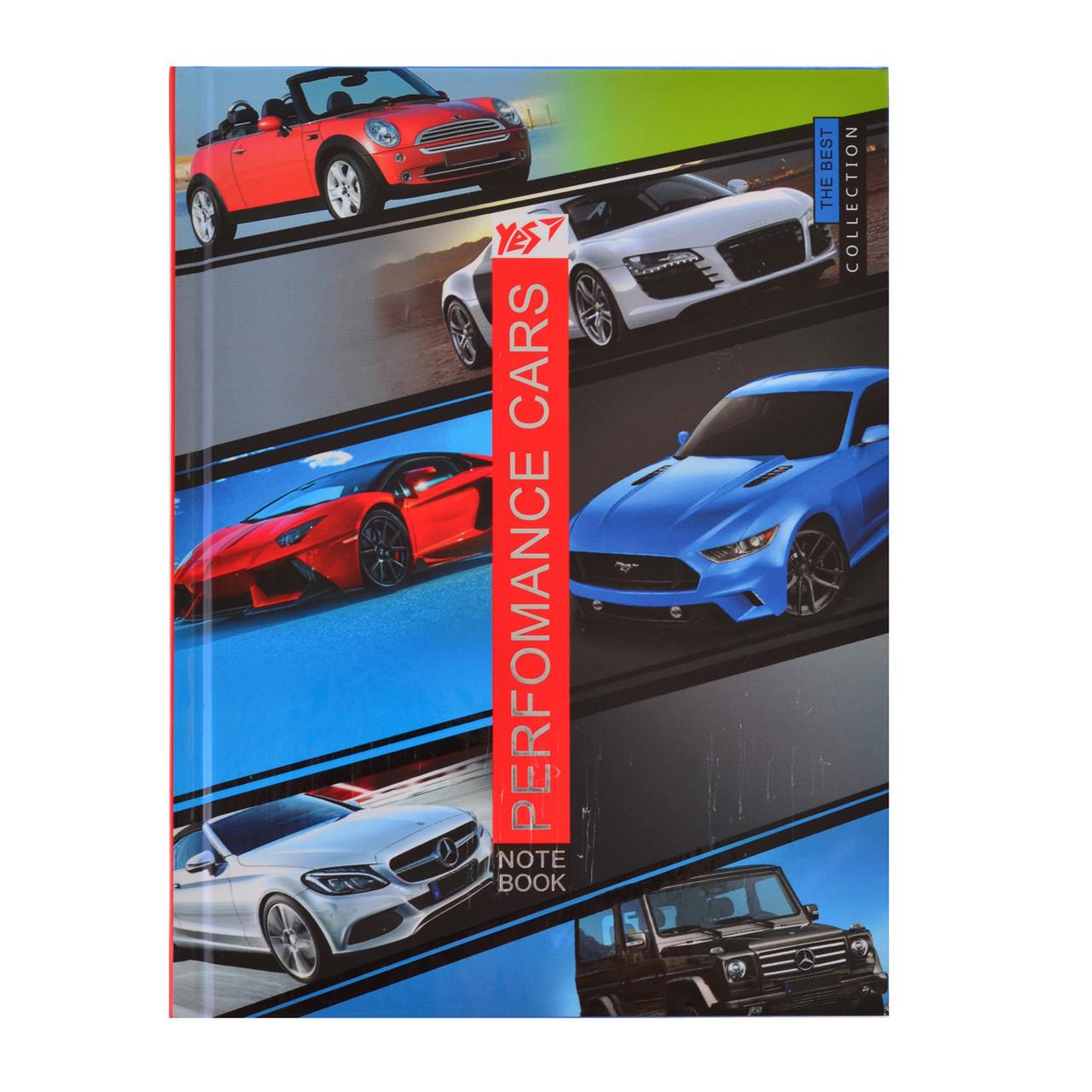 Блокнот 140*185/96 КЛ. 7БЦ Perfomance cars YES код: 151469