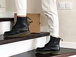 Женские зимние ботинки Dr. Martens 1460 (черные), фото 3