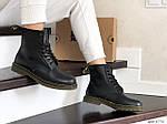 Женские зимние ботинки Dr. Martens 1460 (черные), фото 4